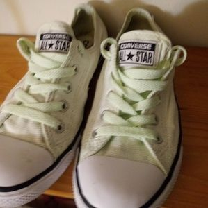 Converse Lime Green Sneakers sz 5